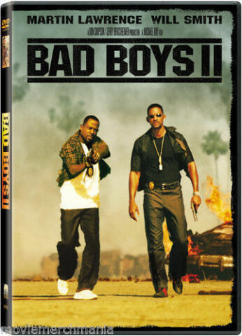 BAD BOYS II DVD 2003 2 DISC SET SPECIAL EDITION BAD BOYS 2 WILL SMITH