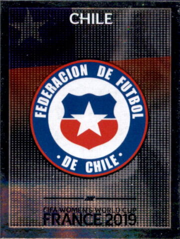 PANINI FRAUEN WM 2019 STICKER 442 WAPPEN CHILE