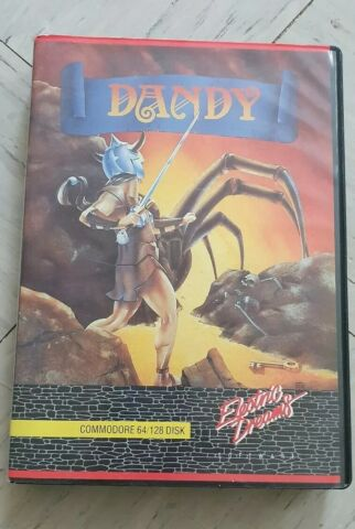 COMMODORE C64 DANDY AUF DISKETTE
