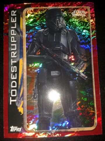 STAR WARS ROGUE ONE HOLO KARTE NR 176 TODESTRUPPLER SAMMELKARTE TRADING CARD