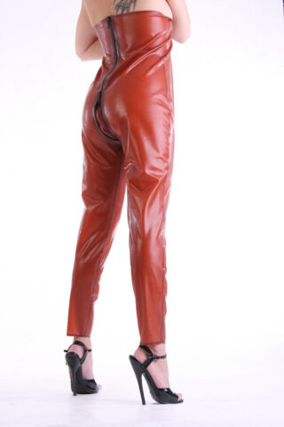 LATEX GUMMI RUBBER BOLERO HOSE PANTS