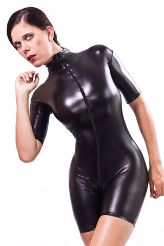CATSUIT OVERALL GOTHIC LACK LATEX LOOK