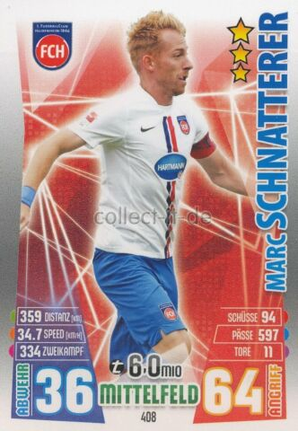 MATCH ATTAX 15 16 408 MARC SCHNATTERER