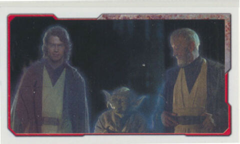 TOPPS STAR WARS UNIVERSE STICKER 264