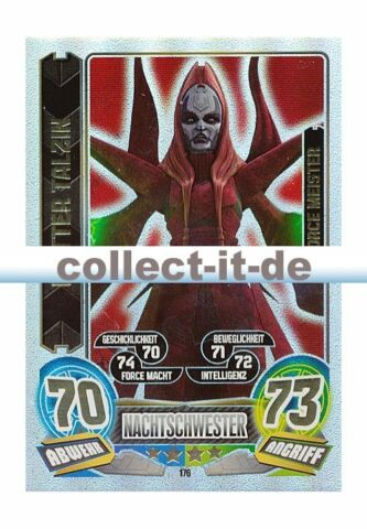 FORCE ATTAX SERIE 5 176 MUTTER TALZIN NACHTSCHWESTER FORCE MEISTER