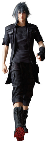 NEW FINAL FANTASY FF15 XV NOCTIS LUCIS CAELUM NOCT COSTUME OUTFIT COSPLAY