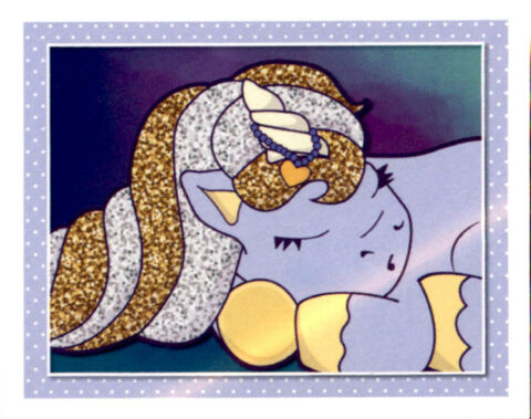 STICKER 160 TOPPS I BELIEVE IN UNICORNS