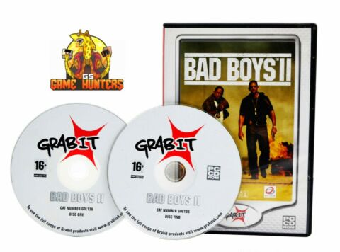 BAD BOYS II 2 PC VIDEO GAME ACTION ADVENTURE SHOOTER MOVIE