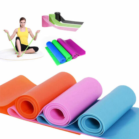 FITNESSB NDER GYMNASTIKBAND RUBBER BAND LATEXBAND THERA BAND STRETCH BANDS