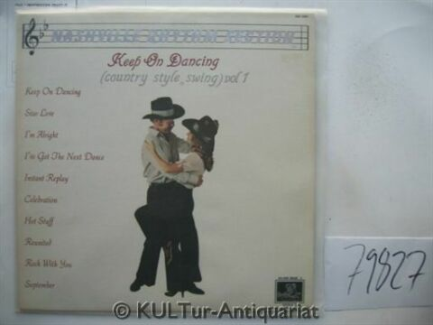 KEEP ON DANCING COUNTRY STYLE SWING VOL 1 VINYL LP NASHVILLE RHYTHM SECTION