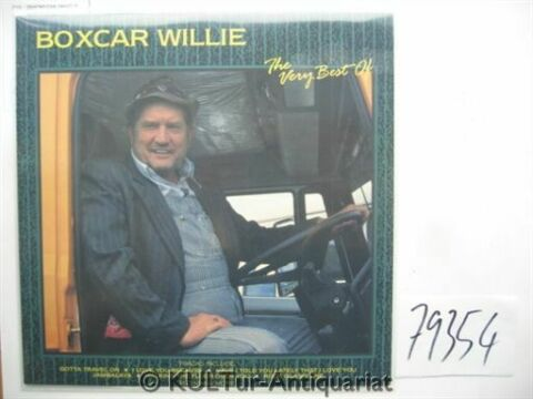 THE VERY BEST OF BOXCAR WILLIE VINYL LP BOXCAR WILLIE
