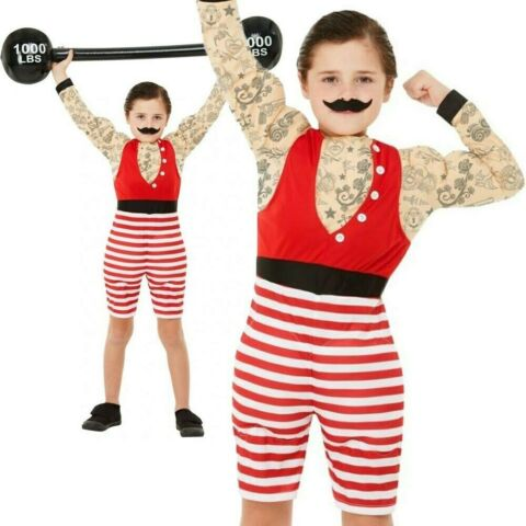 DELUXE STARKER JUNGE KOST M POWER LIFTING JUNGEN KOST M OUTFIT 4 12 JAHRE