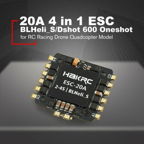 20A 30A 4 IN 1 ESC FOR RC RACING DRONE QUADCOPTER MODEL 500 N