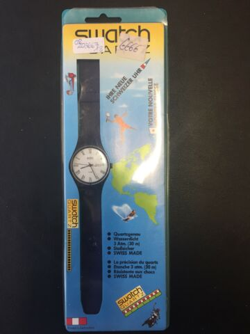 SWATCH GENT NAVY ROMAN FRENCH GN702F IN ORIGINAL BLISTER VERPACKUNG RARIT T
