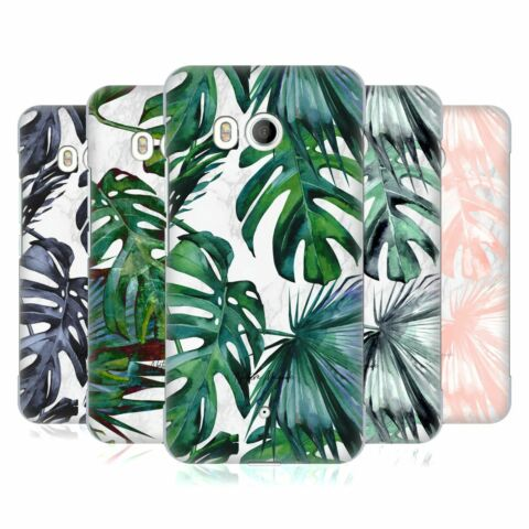OFFICIAL NATURE MAGICK TROPICAL PALM LEAVES ON MARBLE BACK CASE FOR HTC PHONES 1