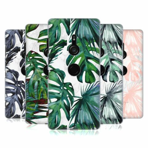 OFFICIAL NATURE MAGICK TROPICAL PALM LEAVES ON MARBLE CASE FOR SONY PHONES 1
