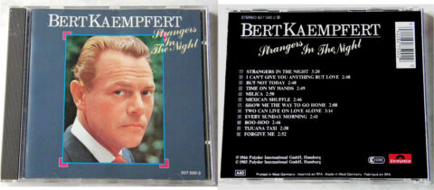 BERT KAEMPFERT STRANGERS IN THE NIGHT 1985 POLYDOR CD TOP