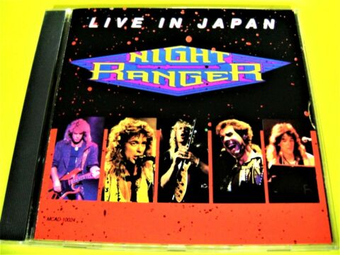 NIGHT RANGER LIVE IN JAPAN ROCK RARIT T SHOP 111AUSTRIA