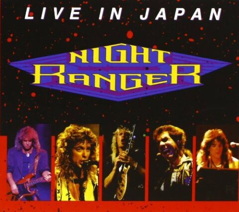 NIGHT RANGER LIVE IN JAPAN CD MELODIC ROCK AOR
