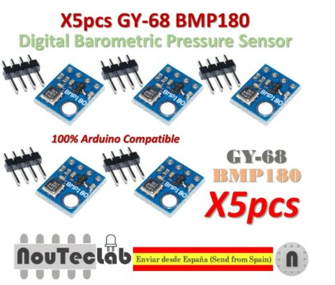 5PCS GY 68 BMP180 REPLACE BMP085 DIGITAL BAROMETRIC PRESSURE SENSOR FOR ARDUINO
