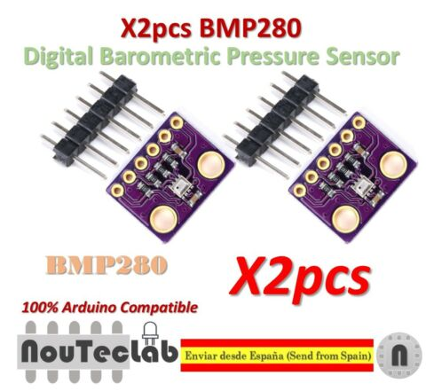 2PCS BMP280 REPLACE BMP180 3 3V DIGITAL BAROMETRIC PRESSURE SENSOR MODULE