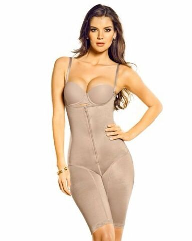 COLOMBIAN BODYSHAPER BRALESS MINIMIZER BODYSUIT