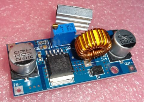 PCB 5A 180KHZ IN 8 36V OUT 1 25 32V BUCK DC TO DC CONVERTER