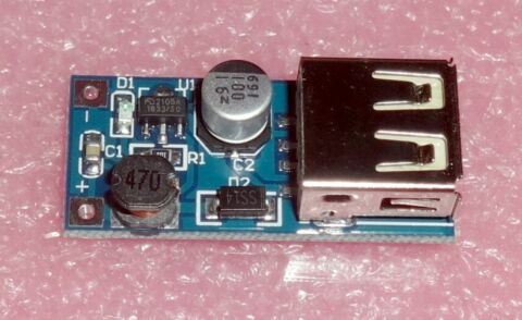 PCB 400MA 180KHZ IN 0 9 6 5V OUT 2 7V STEP UP DC TO DC CONVERTER USB