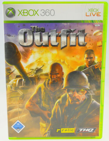 THE OUTFIT MICROSOFT X BOX 360 X360 IN OVP GEBRAUCHT