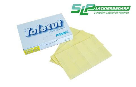 KOVAX TOLECUT YELLOW P800 PACK MIT 25 SHEETS A 8 1 8 CUTS VERSANDRABATT