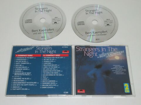 BERT KAEMPFERT UND SEIN ORCHESTER STRANGERS IN THE NIGHT 517 870 2 2XCD ALBUM