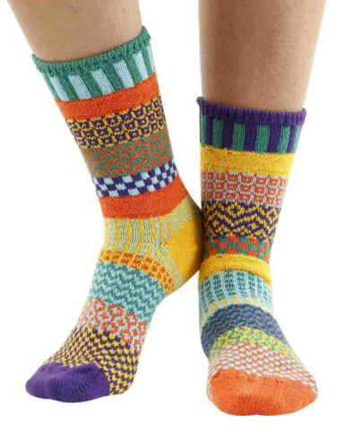 FORGET ME NOT RECYCLED COTTON MULTICOLOURED ODD SOCKS BY SOLMATE
