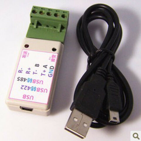 USB TO 485 422 RS422 RS485 CONVERTER ADAPTER CH340T CHIP LED INDICATOR WIN7