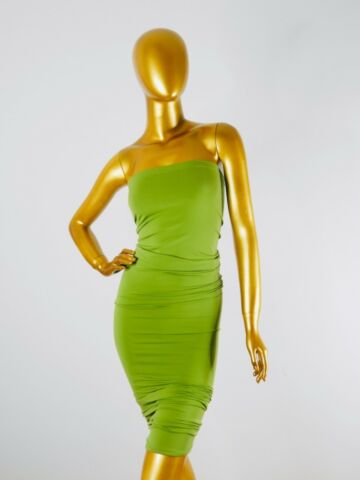 FATAL BODYCON DRESS BY WOLFORD GR N GREEN ROCK TOP KLEID