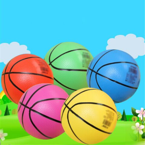 20CM INFLATABLE PVC BASKETBALL BEACH BALL KID ADULT OUTDOOR SPORTS GIFT TOY ZJHN