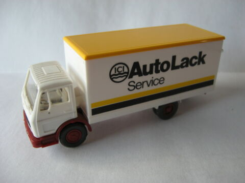 WIKING 1 87 MERCEDES BENZ 1017 KOFFER ICI AUTO LACK SERVICE