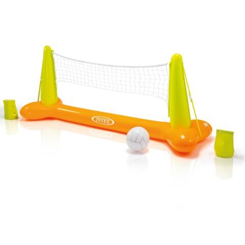 INTEX AUFBLASBARES VOLLEYBALLNETZ WASSERSPIELZEUG KINDER BADESPA POOL SPORT