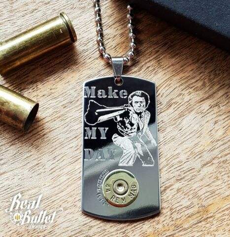 DOG TAG LEGEND SERIES DIRTY HARRY MADE MY DAY 44MAGNUM AUF 350ST CK LIMITIERT