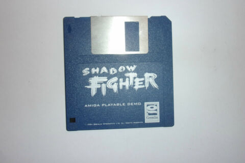COMMODORE AMIGA CBM A500 A1200 GAME PLAYABLE DEMO DISC DISK SHADOW FIGHTER