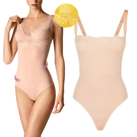 COTTON CONTOUR FORMING STRING BODY BY WOLFORD S 36 ROSE TAN FORMEND