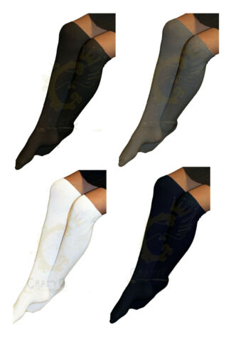 GIRLS LADIES KNEE HIGH 3 PACK SOCKS SCHOOL UNIFORM COLOURS GREY WHITE BLACK NAVY