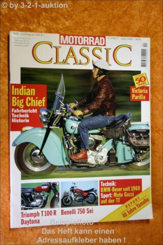 MOTORRAD CLASSIC 4 95 INDIAN BIG CHIEF TRIUMPH DAYTONA