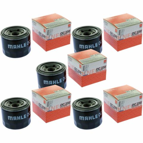 5X MAHLE KNECHT LFILTER OC 230 OIL FILTER