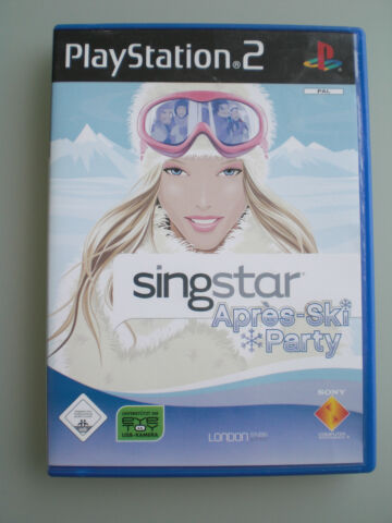 SINGSTAR APR S SKI PARTY SONY PLAYSTATION 2