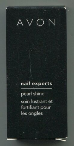 100 ML 80 AVON PEARL SHINE NAGELLACK SHEER BRONZE