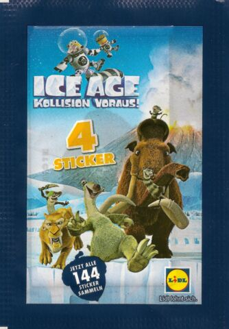 LIDL ICE AGE 16 STICKER NR 16 20 24 27 32 42 76 87 89 94 108 110 112 134 136 142