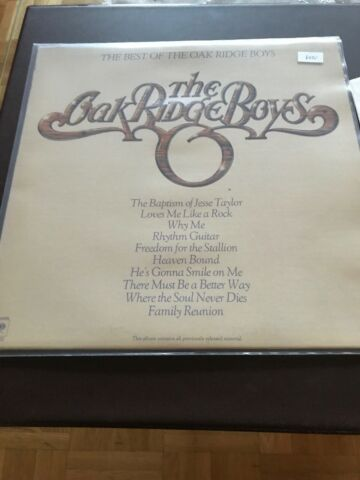 THE OAK RIDGE BOYS LP BEST OF 643F