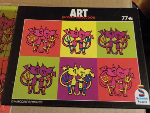 LOVE IS HELL ART PUZZLE COLLECTION PETER MARCO 77 TEILE 210X148 MM SCHMIDT SP