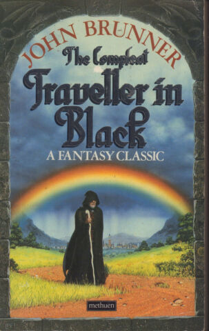 JOHN BRUNNER THE COMPLEAT TRAVELLER IN BLACK PAPERBACK