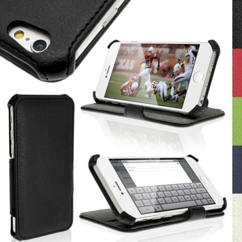 PU LEATHER SKIN STAND CASE FOR APPLE IPHONE 6 6S 4 7 FLIP COVER FOLIO BOOK